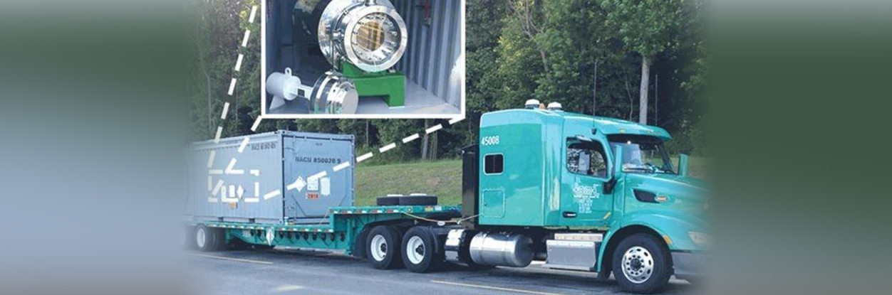 It's initials are HEUNL, although that can be shortened to HEU. That stands for highly enriched uranium nitrate liquid and trucks carrying some of the material may be passing through Durham Region on the way to the United States.
