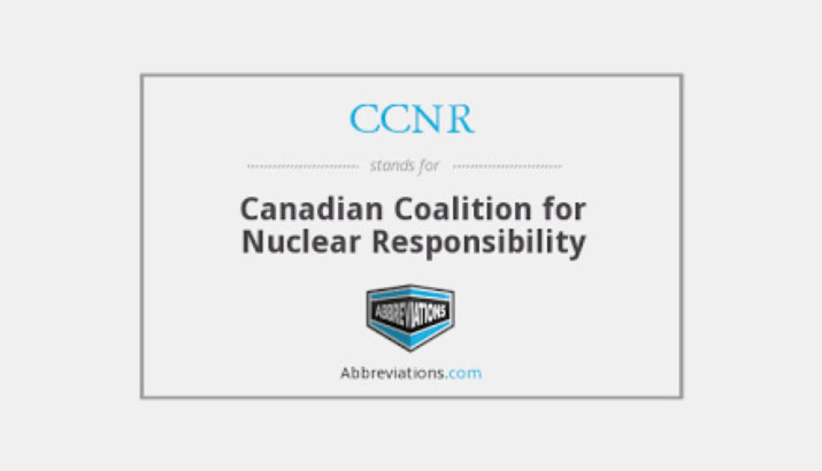 """A Heap of Trouble"": CCNR submission on EIS for Near Surface Disposal Facility"