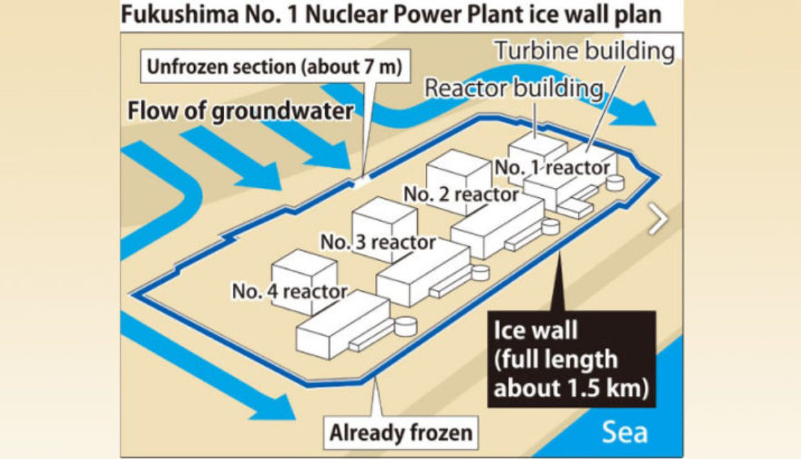 High-priced Fukushima ice wall nears completion, but effectiveness doubtful