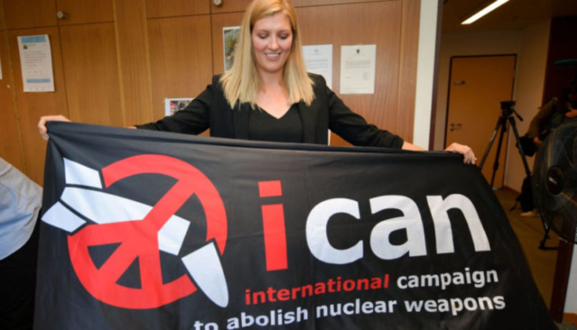 International Campaign to Abolish Nuclear Weapons (ICAN) wins nobel peace prize