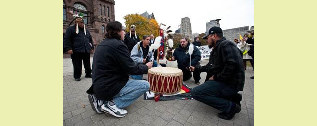 Indigenous demonstrators, environmentalists urge governments to stop using nuclear power